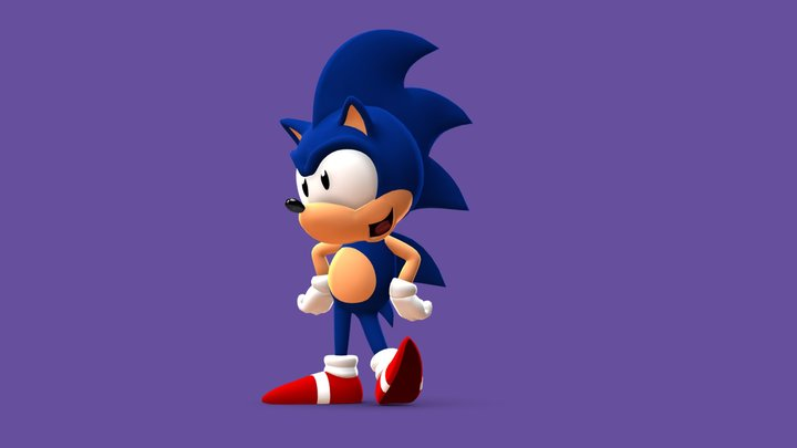 Sonic the Hedgehog (SatAM) 3D Model