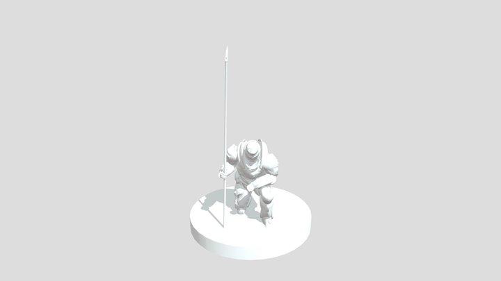 Doom Eternal - Night Knight Pose 3D Model