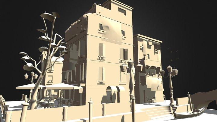 CityScene Venice Final 3D Model