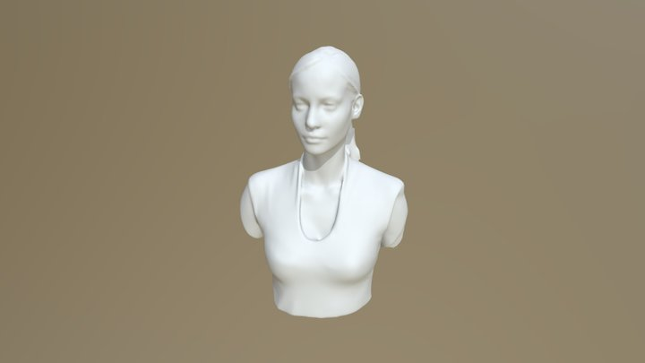Eugénie 3D Model