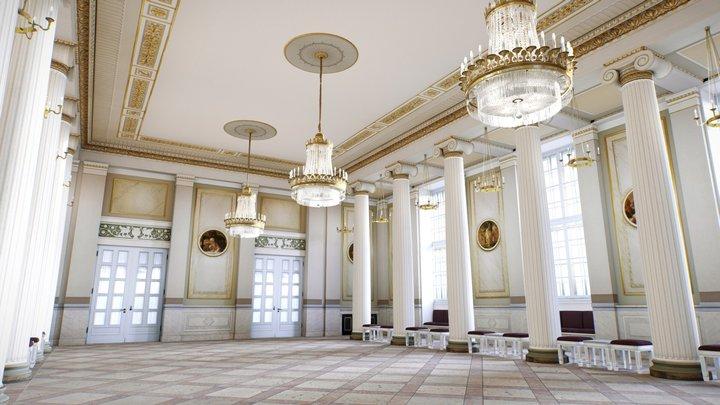 Konzerthaus Berlin: Ludwig van Beethoven Hall 3D Model