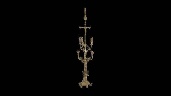 Zoutleeuw-Chandelier-pascal 3D Model