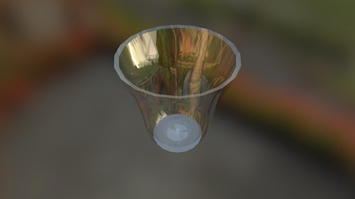 Water Glass 3D Model