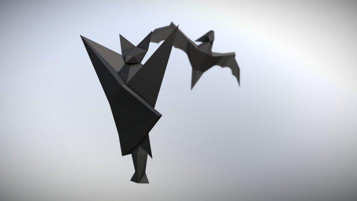 Bats 3D Model