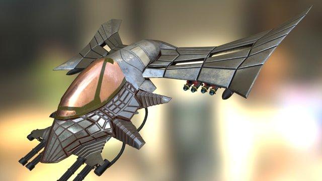 Wasp Bomber 4k resolution 3D Model