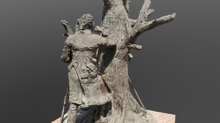 Lewis and Clark Statue 3D Model