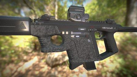 Shockwave Kriss Vector 3D Model