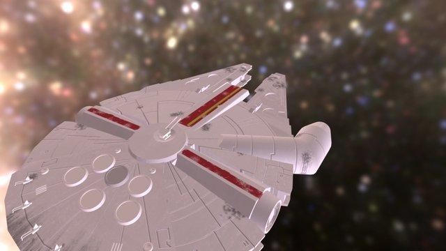Faucon- Millenium 3D Model