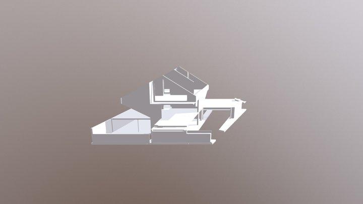 Rev14b-3D View-ROHBAU-WARM-ohne Sichtbeton2 3D Model