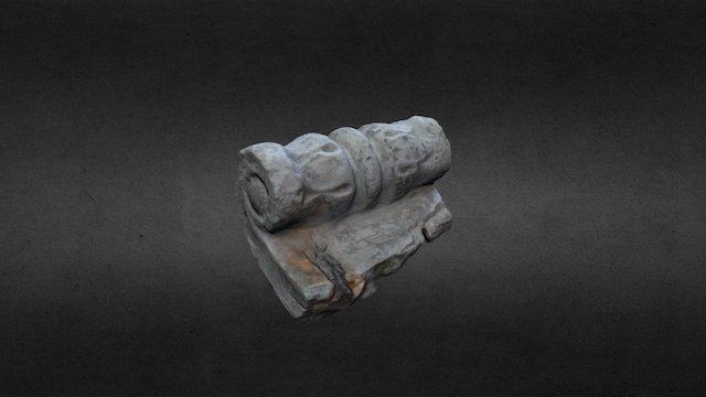 Plaster Curl 3D Model