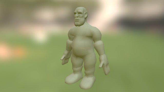 Dwarf Prototype 01 // Oscar Darriba 3D Model