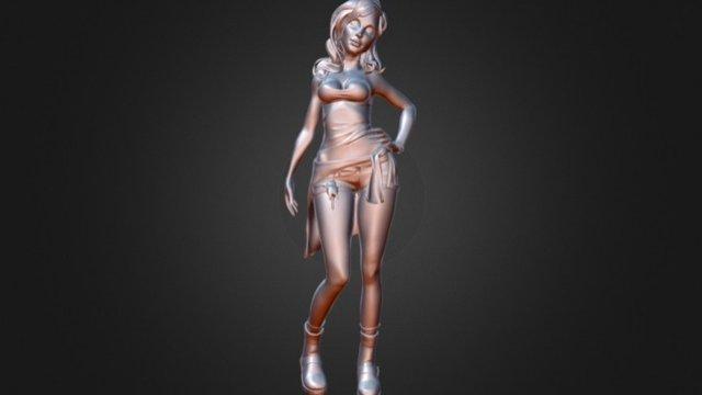 Msullivan_Bianca_LowPoly 3D Model
