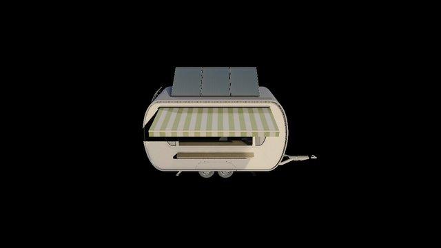 Caheeba Eco Caravan Canteen 3D Model