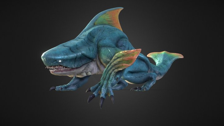 Zamtrios 3D Model