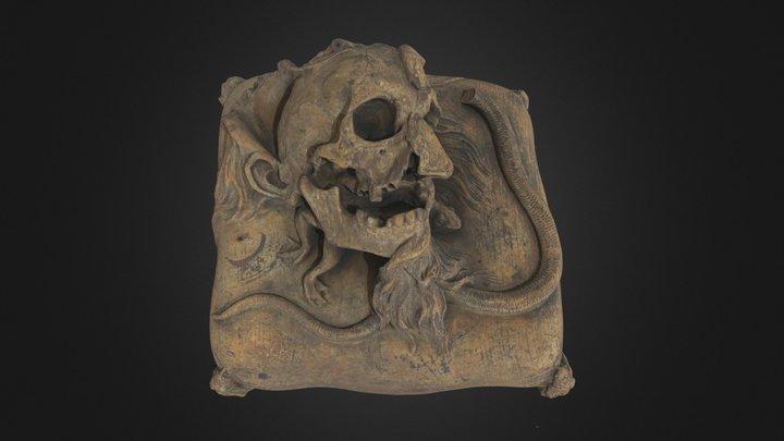 Memento Mori, um 1720/25   Pl.O.3211 3D Model