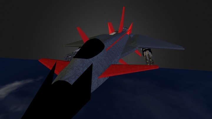 Space Typhoon 3D Model