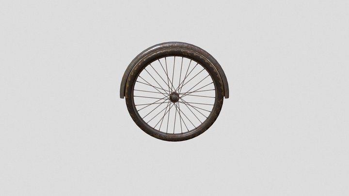 bike tire v4 3D Model
