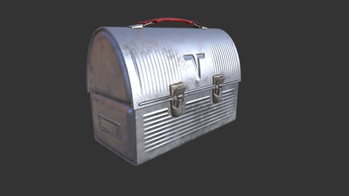 Thermos Lunchbox 3D Model