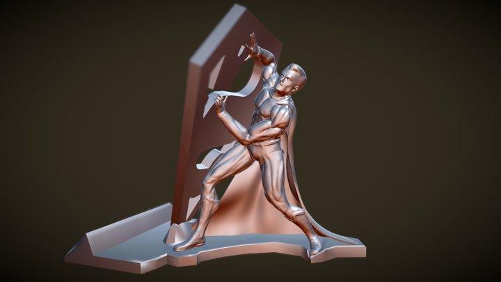Superman Phone Holder 3D Model