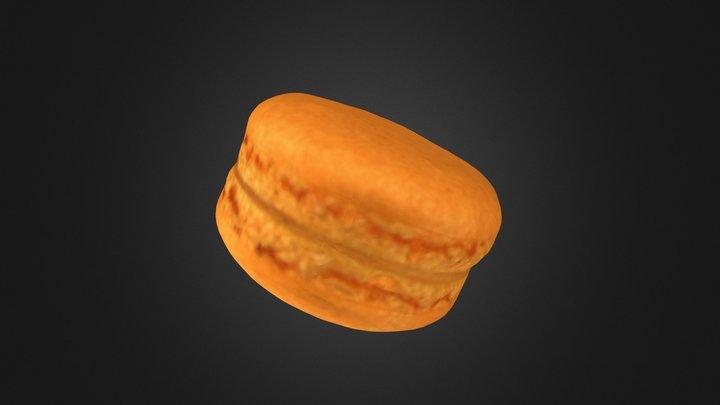 The Mango Macaron 3D Model