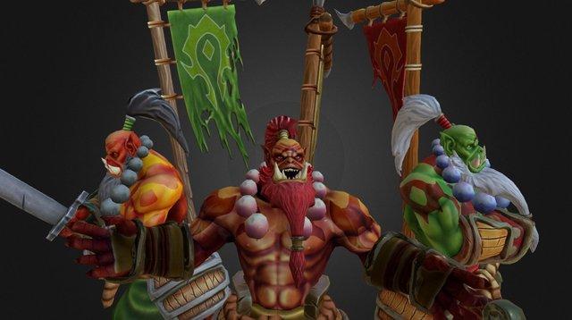 Blademasters 3D Model