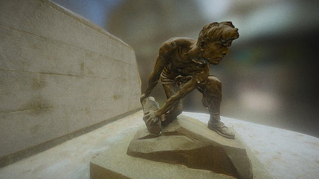 Stone as a weapon of the proletariat 3D Model
