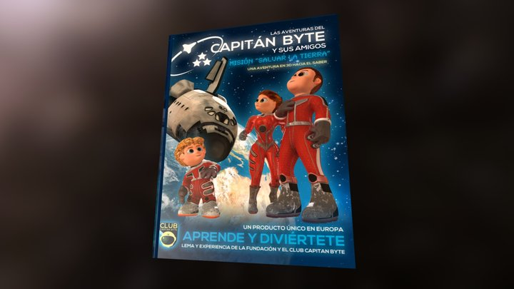 Capitan Byte Vol #1 3D Model