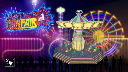 Virtual-FunFair - Chain-Carousel 1.0 3D Model