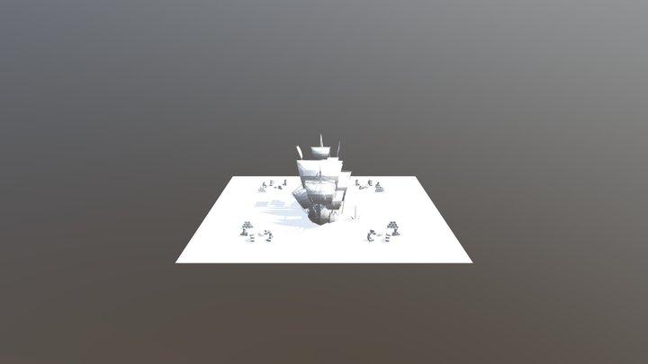 the21pirates 2020 exhibtion Design 3D Model