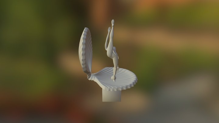 Posafin 5 Plus Podstavka 3D Model