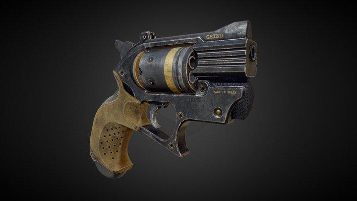 Geind EL-645 Gun 3D Model