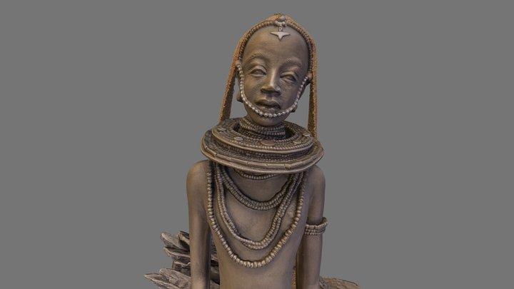 "Soul Journey - ""Patina Statue"" 3D Model"