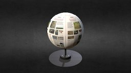Global Perspectives Archaeoglobe 3D Model