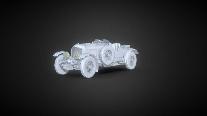 Bentley 4L Blower 3D Model