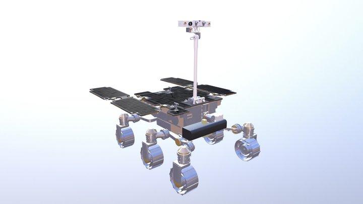 ESA ExoMars Rover 3D Model