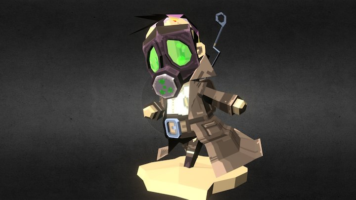 Nuke Scum 3D Model