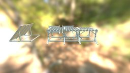 Monkey Bars -  Inverse Wall - Walls 3D Model