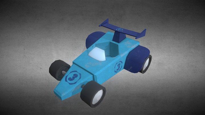 Kart Number 3 3D Model