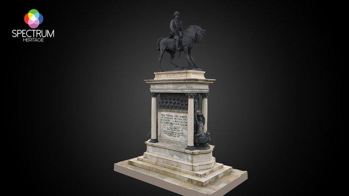 Field Marshal Earl Roberts Memorial 3D Model