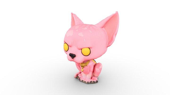The Lying Cat pop vinyl [SAGA] 3D Model