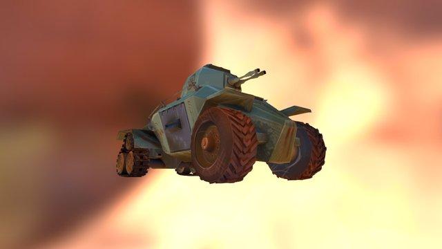 Tank Test 3D Model