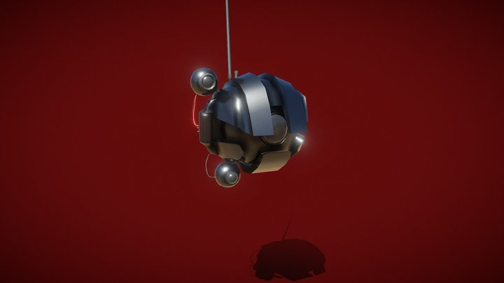 Darth Maul Droid (Low Poly) 3D Model