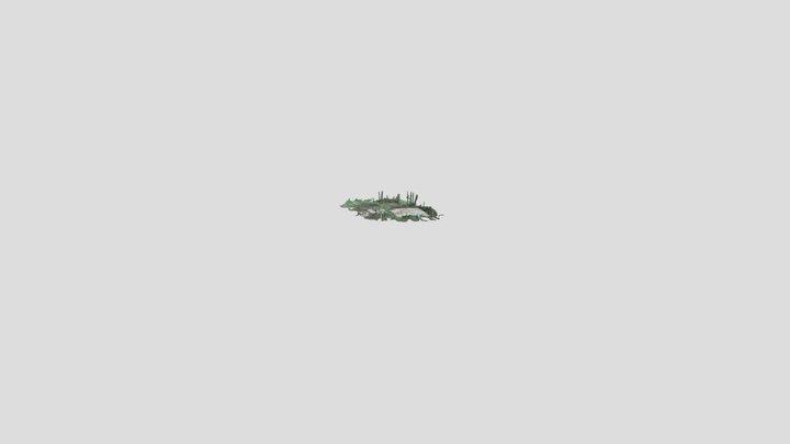 Birches Conc Pad 3D Model