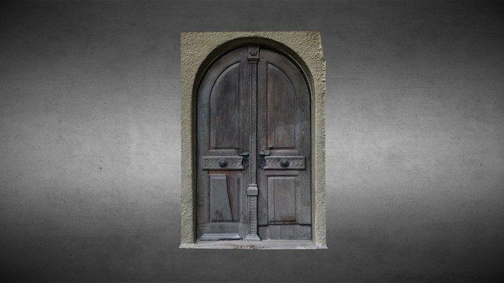 Ușă - biserica evanghelică din Șeica Mică 3D Model