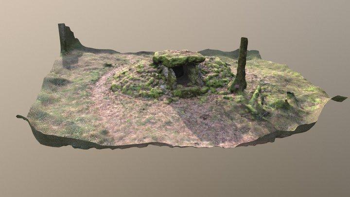 Dolmen du fort Bévaux 3D Model