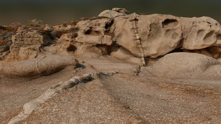 Rocks Marine - Corsica 3D Model