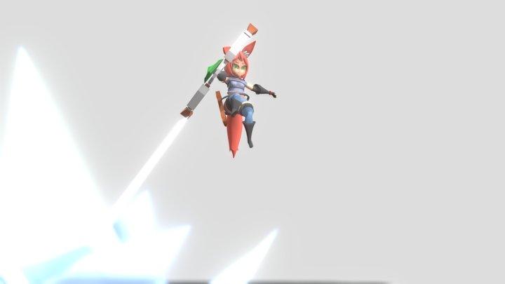 Fox Rogue 3D Model