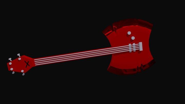 Marceline's Ax Bass 3D Model
