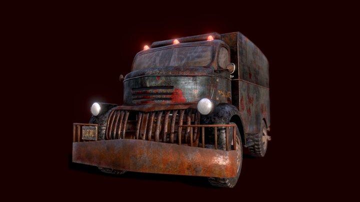 Creeper's Truck 3D Model