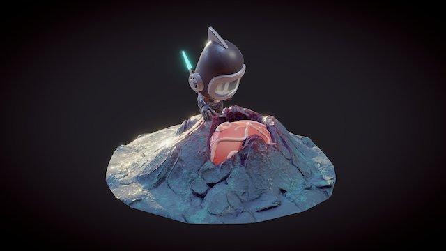 Spaceman 3D Model